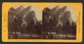 The Three Brothers; height 3830 ft., Yo Semite Valley, Cal, by Reilly, John James, 1839-1894.png