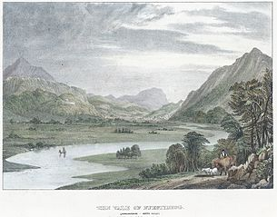 The Vale of Ffestiniog: (Merionethshire, North Wales)