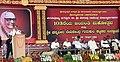 The Vice President, Shri M. Venkaiah Naidu addressing the gathering at the 103rd Birth Anniversary Celebrations of His Holiness Jagadguru Sri Shivarathri Rajendra Mahaswamiji, in Mysuru, Karnataka.JPG
