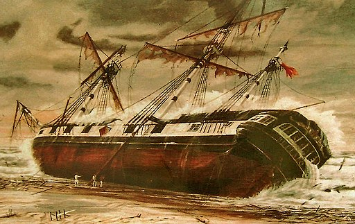 The Wreck of the H.M.S. Buffalo