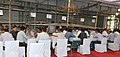 The counting of votes in progress, at a Counting Centre of General Election-2014, in New Delhi on May 16, 2014.jpg
