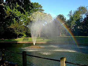 The fountain at Butter Hill - geograph.org.uk - 362488