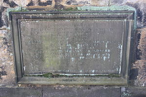 George Young, Lord Young - The grave of Lord Young, St John's, Edinburgh