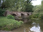 Packhorse Bridge over River Blythe