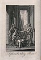 The suicide of Sophonisba; Sophonisba is sitting on a chair Wellcome V0041574.jpg