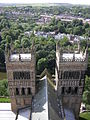 The west towers of Durham Cathedral - geograph.org.uk - 1289212.jpg
