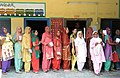 The women voters standing in a queue to cast their votes, at a polling booth, during the 8th Phase of General Elections-2014, in Hamirpur, Himachal Pradesh on May 07, 2014.jpg