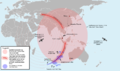 Theoretical Search Area of MH370 v.3.png