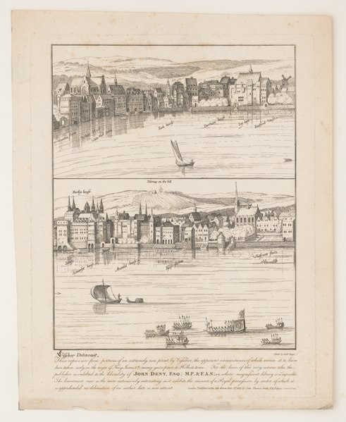 File:These copies are from portions of an extremely rare print by Visscher, the apparent circumstances of which evince it to have been taken early in the reign of King James 1st many years prior LCCN2017650793.tif