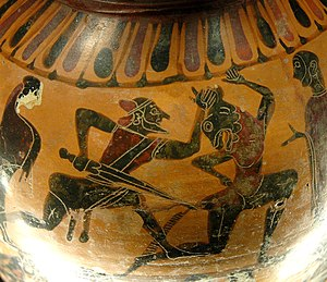 Castellani Painter - Image: Theseus Castellani Louvre E850