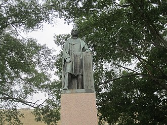 Thomas Jefferson Rusk - Statue of Thomas Jefferson Rusk at Rusk County Courthouse in Henderson, Texas