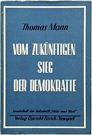 Thomas mann bruder hitler essay
