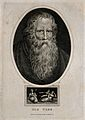 Thomas Parr, said to have lived 152 years, with the three fa Wellcome V0007249ER.jpg