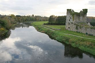 River Nore - River Nore at Thomastown in County Kilkenny