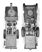 Thornycroft steam wagon, above and below (Rankin Kennedy, Modern Engines, Vol III)