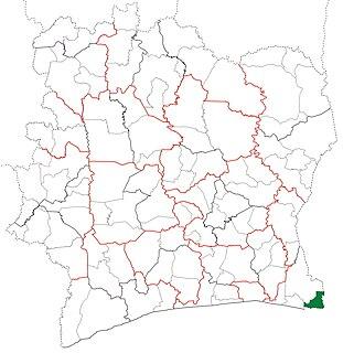 Tiapoum Department Department in Comoé, Ivory Coast