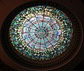 Tiffany glass dome, Camino Real Hotel (formerly Hotel Paso del Norte), 1912 .JPG