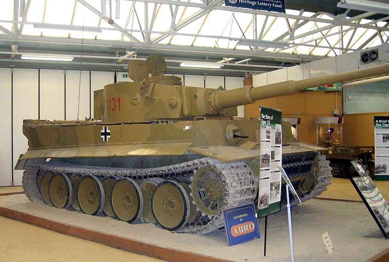 Tiger Tank 6