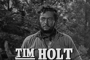 Tim Holt - Tim Holt in the trailer for The Treasure of the Sierra Madre (1948)