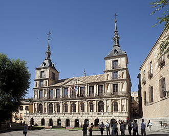 Politics of Toledo (Spain) - Toledo City Hall.