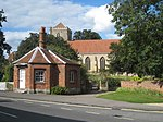 Toll house and Dorchester Abbey