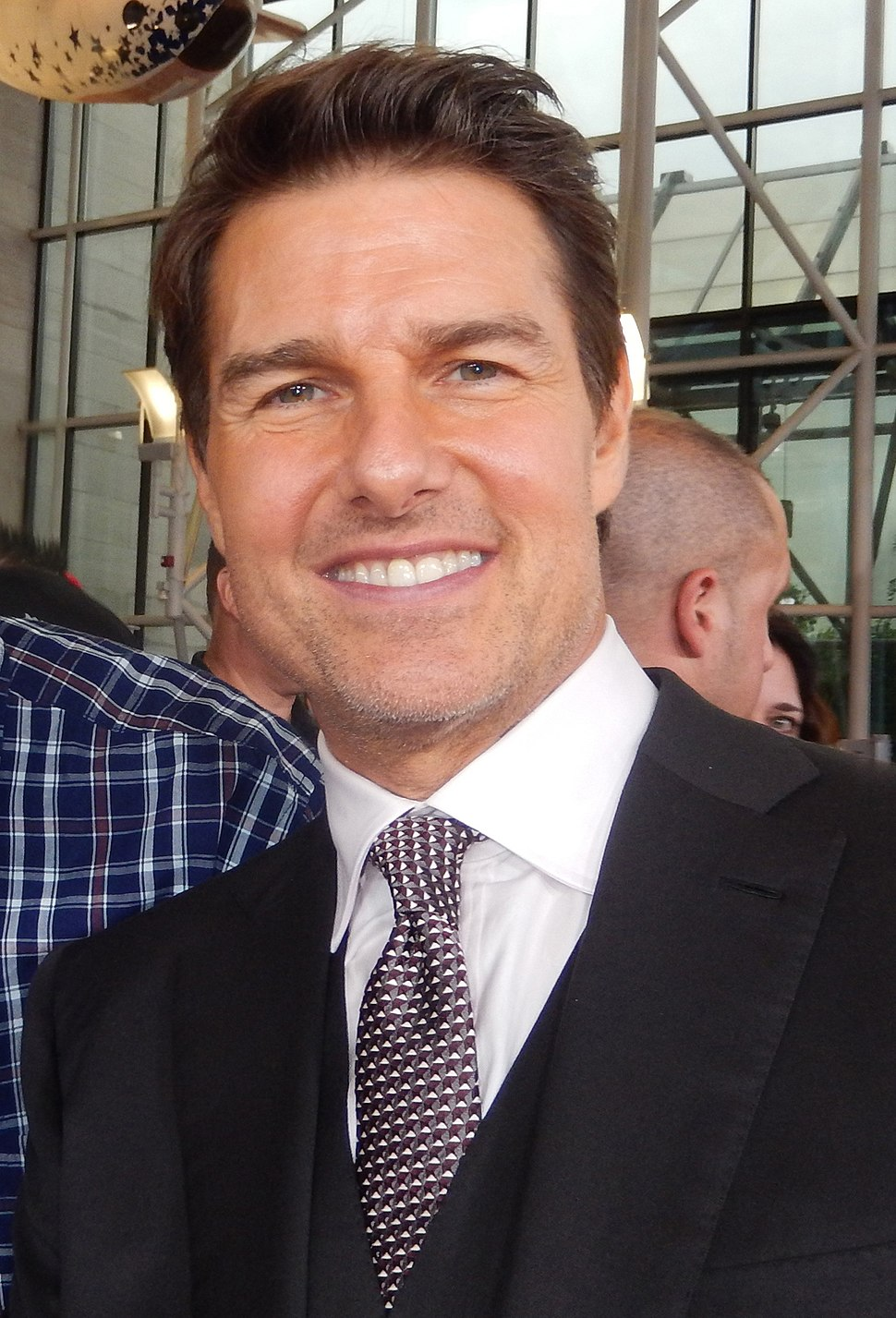 Tom Cruise in 2018 (cropped)