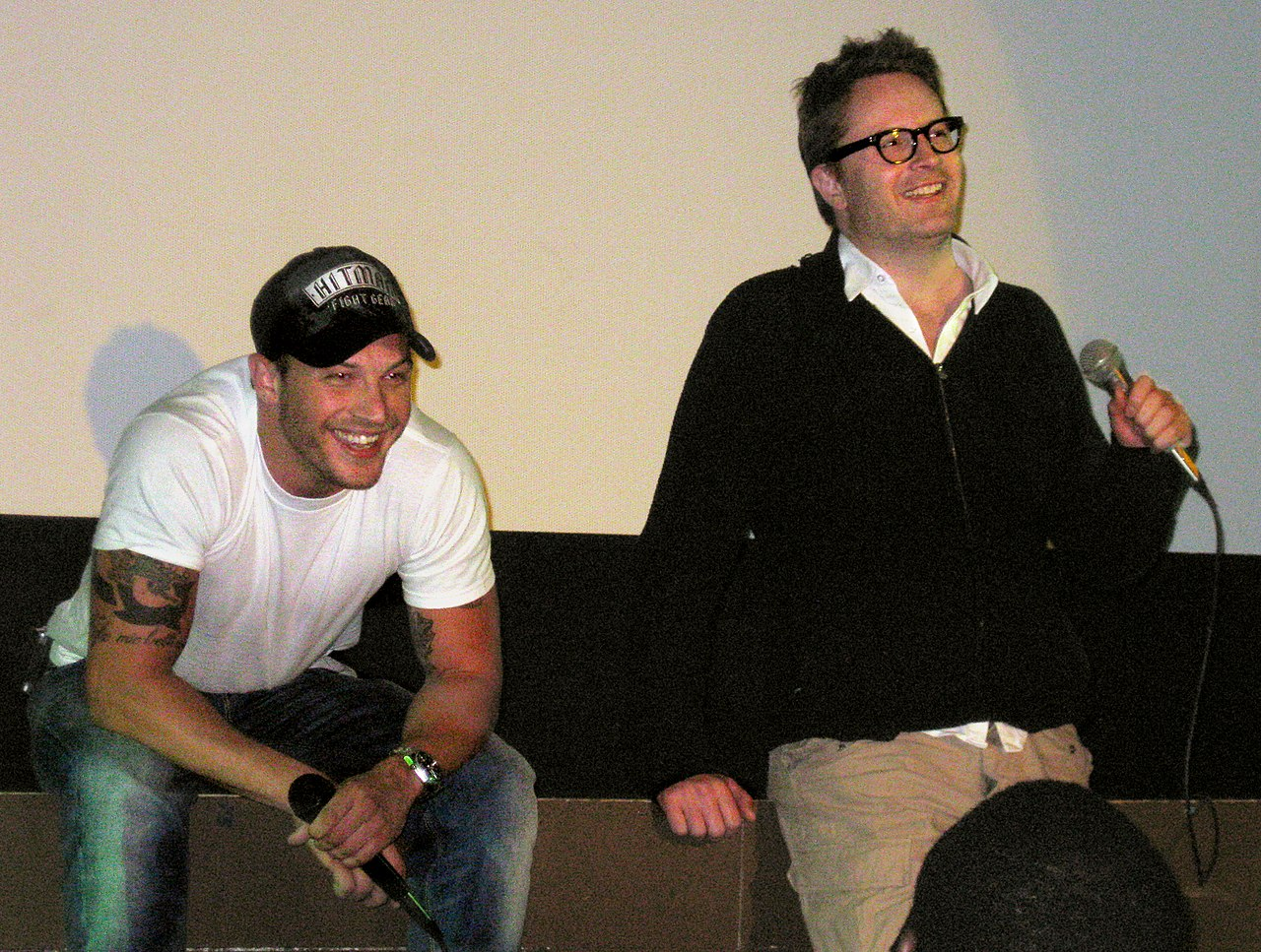 File:Tom Hardy & Nicolas Winding Refn.jpg - Wikimedia Commons