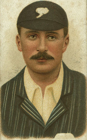Tom Taylor (Yorkshire cricketer) - Image: Tom Taylor Cigarette Card