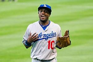 Tony Gwynn Jr. - Gwynn with the Los Angeles Dodgers in 2011