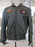 Tony McPeak jacket - Evergreen Aviation & Space Museum - McMinnville, Oregon - DSC00681.jpg