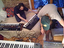 Too many synths, Oneohtrix Point Never, 2nd March 2010.jpg