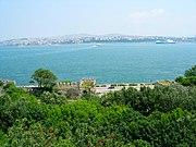 Gülhane Park as seen from the Topkapı Palace