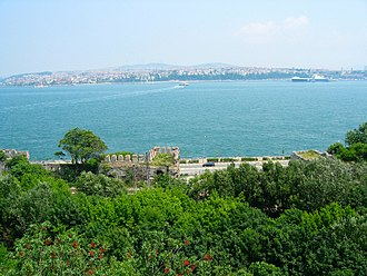 Gülhane Park - Gülhane Park as seen from the Topkapı Palace