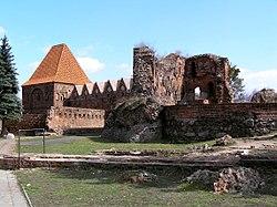Torun zamek krzyz