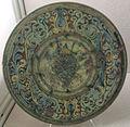 Toscana, ceramica a graffito con stemma, xvi sec.JPG