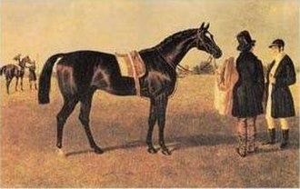 Touchstone (horse) - Painter: John Frederick Herring, Sr. (1795–1865)