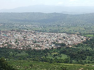 Harar enclosed within the city wall, Jugol