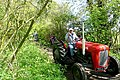 Tractor on the Devil's Highway - 2 of 3 - geograph.org.uk - 1303617.jpg