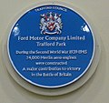 Trafford Centre Ford blue plaque Dec 2016.jpg
