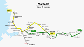 Image illustrative de l'article Tramway de Marseille