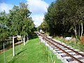 Tramway at Norden station (geograph 4689151).jpg