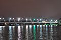 Trang Tien Bridge at Night over the Huong (Perfume) River, Hue, Vietnam 01.jpg