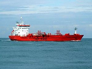 Trans Scandic approaching Port of Rotterdam, Holland.jpg
