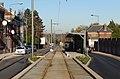 Travaux de la branche vers Vieux-Condé de la ligne B du tramway de Valenciennes en décembre 2013 (268).JPG