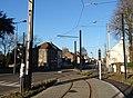 Travaux de la branche vers Vieux-Condé de la ligne B du tramway de Valenciennes en décembre 2013 (290).JPG