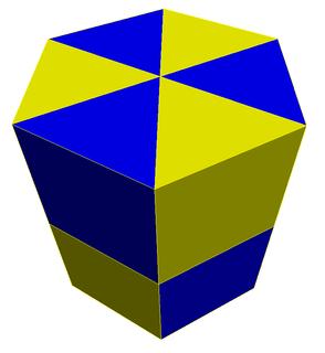 Triangular prismatic honeycomb