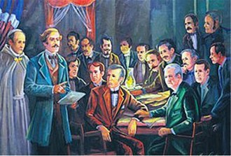 Juan Pablo Duarte - La Trinitaria was the organizer of the formation and independence of the Dominican Republic.