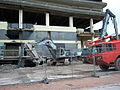 Trinity Square 'Get Carter' car park Gateshead demolition pic 5.JPG