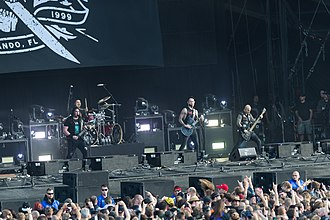 Trivium discography - Trivium performing in 2017.