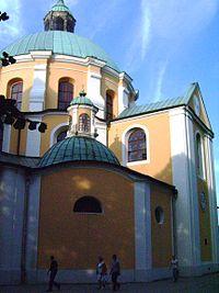 Trzemeszno. Kościół. Transept